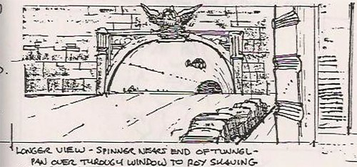 Blade Runner storyboard
