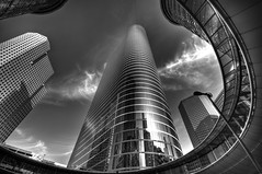 Chevron Tower, Houston, TX (DaveWilsonPhotography) Tags: building monochrome architecture skyscraper texas tx houston explore chevron hdr enron cooliris impressedbeauty bratanesque top20texas bestoftexas twittographers