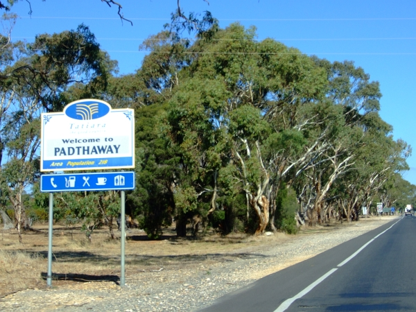 welcome to padthaway