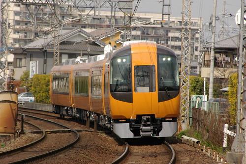 Kintetsu22600series in Yamato-Yagi〜Masuga,Kashihara,Nara,Japan 2009/3/29