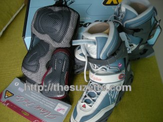 k2 inline skates and alexis gear set