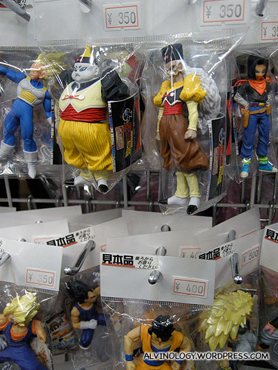 More Dragonball figurines