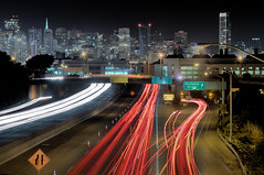 San Francisco at Night (exxonvaldez) Tags: sanfrancisco longexposure night nbc freeway kingstreet trauma sfist i280
