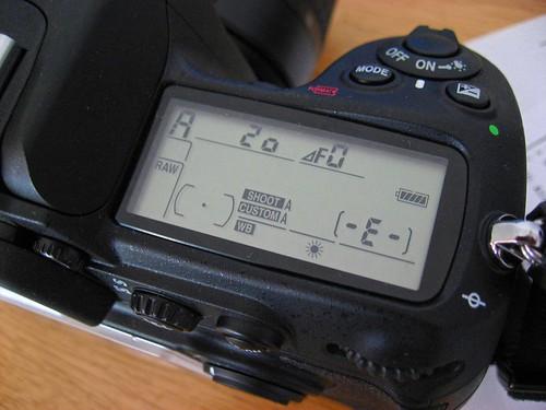 Nikon D300: Dreaded F0 Problem