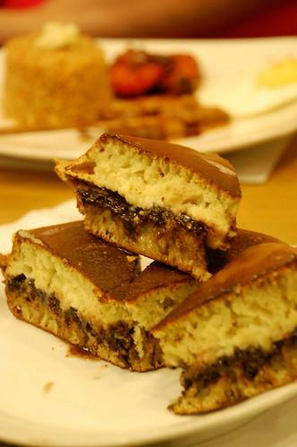 martabak chocolate and cheese