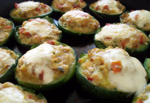 Zapallitos Rellenos | Stuffed Round Zucchini by katiemetz, on Flickr
