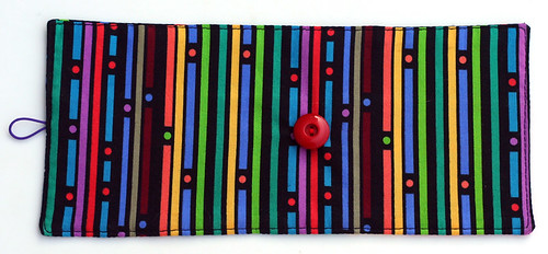 Crayon roll: backside