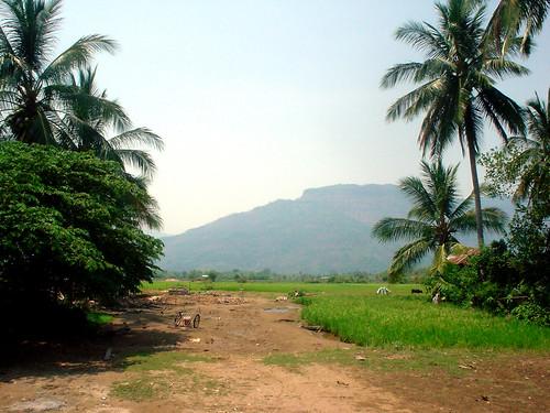 27.Champasak純樸的農村風光
