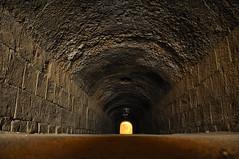 Tunnel under the Roman El-Jem Colosseum, Tunisia (iancowe) Tags: roman tunisia interior ruin corridor tunnel colosseum gladiator eljem gladiators eldjem