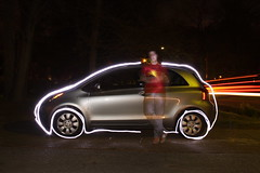 37/365 Yaris (Photos by Dash) Tags: light lightpainting 365 lightgraffiti yaris lightwriting 365days websiterandomness