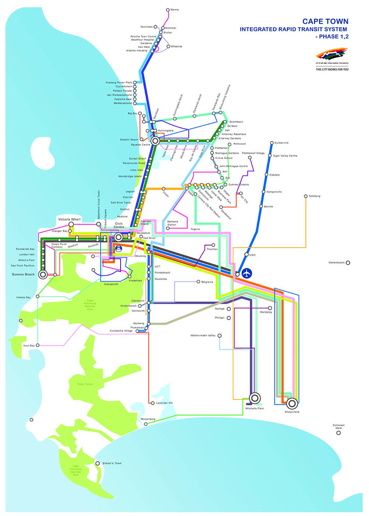 MyCiTi bus system heads to Cape Flats from 2014 Future Cape Town