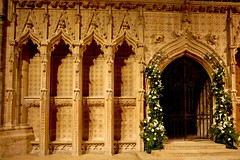 Lincoln Cathedral screen stone carving