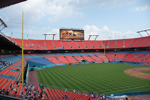 Marlins vs. Mets, Dolphin Stadium, 4/11/09
