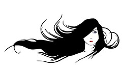 Black Hair (TheSupremeWoofy) Tags: original girls light red summer portrait people white black art beautiful beauty face lines fashion modern lady female illustration composition pose hair person freedom design cool artwork model glamour graphics women pattern natural body expression decorative decoration young makeup lips retro health human card elements harmony lipstick females cheerful sensuality cosmetics shoulder luxury vector facial wealth elegance femininity flourishes prettystyle youthartistic