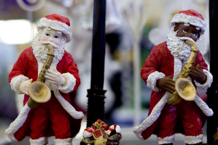Santas.