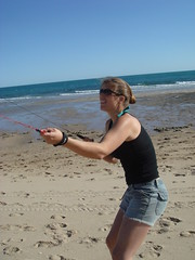 Harder than it looks (kithieren) Tags: puertopenasco rockypoint meaghan