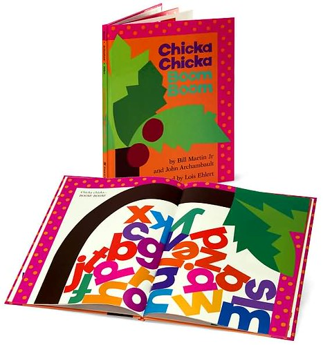 Top 100 Picture Books #23: Chicka Chicka Boom Boom by Bill Martin Jr. and John Archambault, illustrated by Lois Ehlert