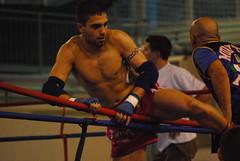 Muay Thai Fighter (Gianluca Bergamaschi) Tags: out fight fighter fabio ring thai wins aprile fortunato muay 2009 knock boxe novara cornaredo