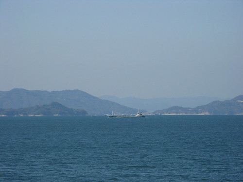 Day10 - 02 - The view across the inland sea to Honshu