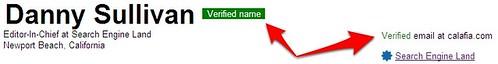 Verified Information On Google Profiles