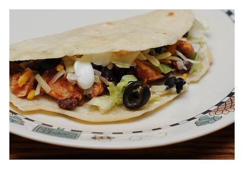 blackbeanchickentacos