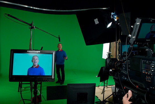 Green screen @ Ursa Minor
