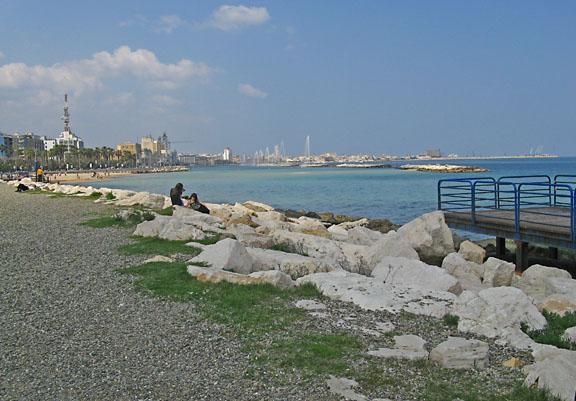 Pane e pomodoro beach, Bari