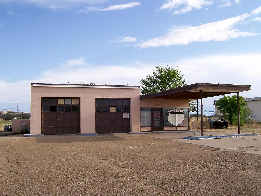 Old Exxon station, 1200 block West Tucumcari Blvd. 2009