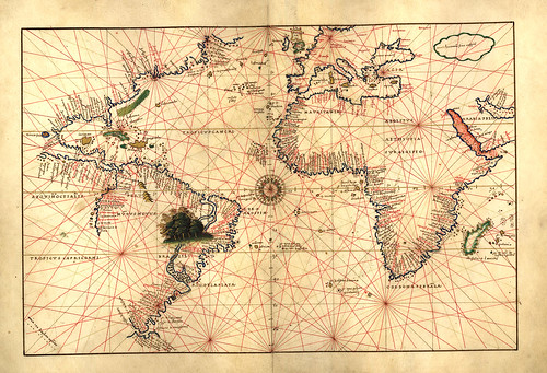 013-Atlas de Battista Agnese 1544