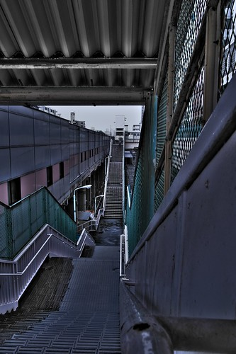 Stairs At Station