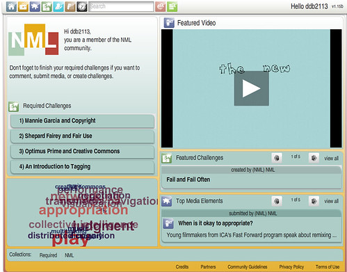 Screenshot of 'Learning Library' from MIT
