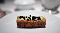 10th Course: Cocao Nib Financier