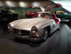 gull wing (buzzygirl) Tags: cars mercedesbenzmuseum
