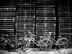 20090504_tsukishima_27 (pqw93ct) Tags: bw white black detail texture monochrome japan tokyo 東京 ricoh tsukishima 月島 モノクロ 白黒 gx200