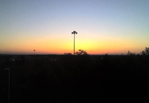 Sunrise over Akron Ohio