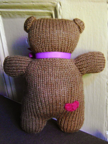Birthday Bear backside