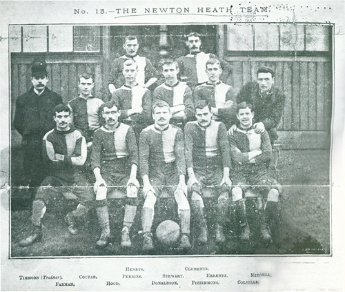 Newton Heath 1892/93 team photograph