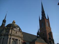 L'église de l'île des chevaliers