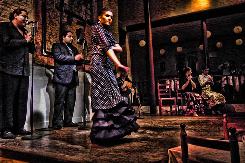 Flamenco Photo that is processed by Topaz Adjust