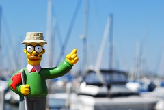 My Boat! (Srch) Tags: toy thesimpsons ned flanders monito nedflanders lossimpsons nikond60 30daysoneobject