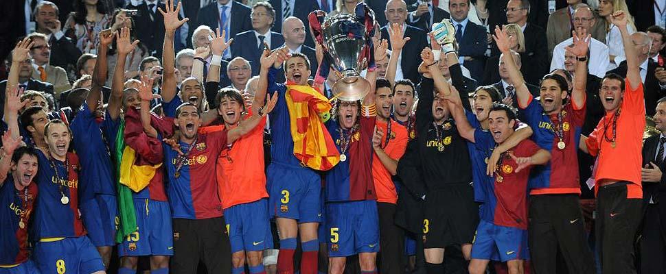 Barça campeón de Europa 2008/2009