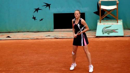 Agnes Szavay - 3ème tour de Roland Garros 2009 - tennis french open