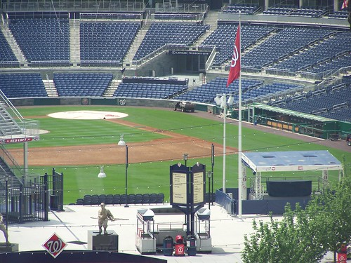 3rd base, the former home of the Washington Sculpture Center, Washington Nationals Stadium