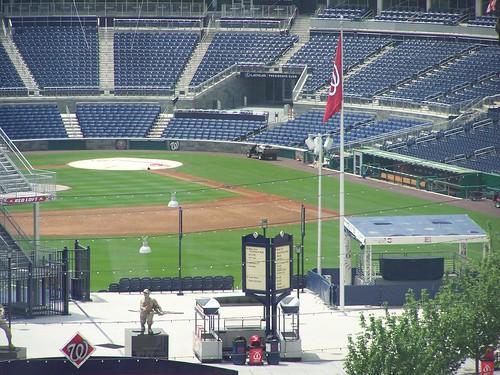 3rd base, the former home of the Washington Sculpture Center, Washington Nationals Stadium