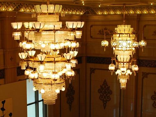 音樂廳的燈飾