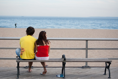 Lovers on the Boardwalk