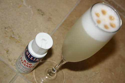 Pisco Sour with Collin's Bar Foamer