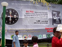 100_0926_640x480 (Smoke-free Legazpi) Tags: smokefree launching legazpi deathclock