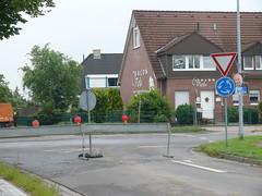 Dorfstraße Richtung Kreisverkehr