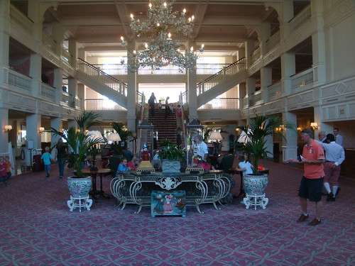Vestíbulo principal del Hotel